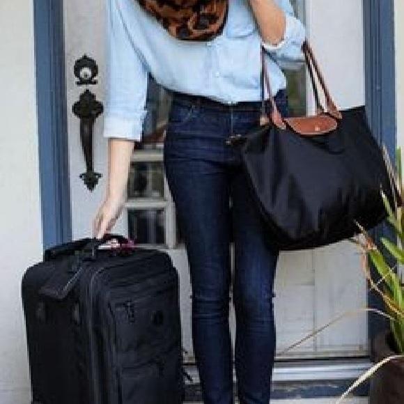 Le Pliage Large Shoulder Tote Bag in Black 7d93881c09648